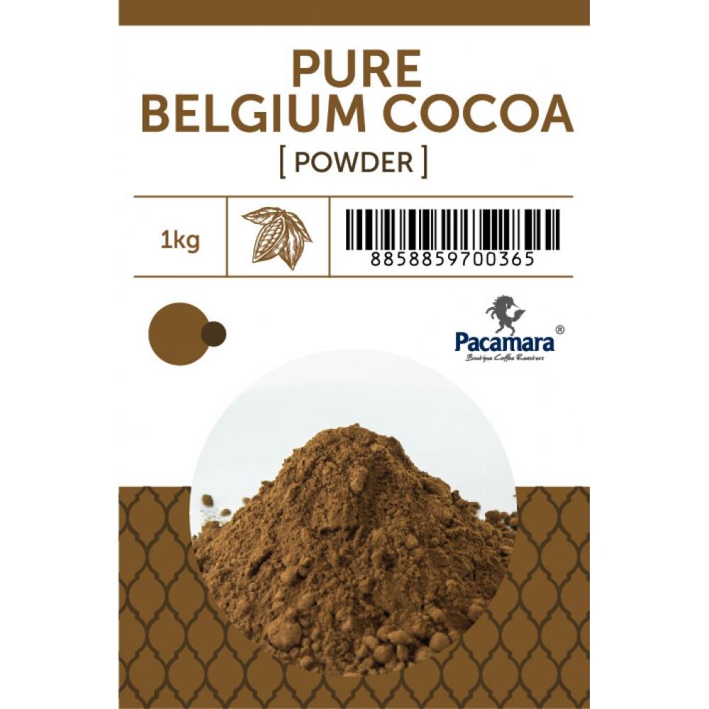 ผง Cocoa เข้มข้น ชนิด Premium จากเบลเยี่ยม