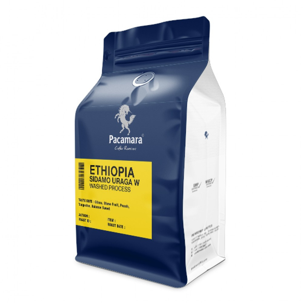 (5% Discount) Ethiopia Sidamo Uraga Washed process Roasted Coffee bean 250g  Roast Date: 27.04.2020