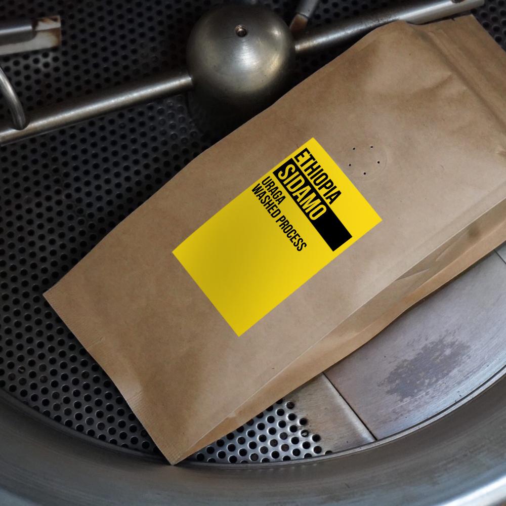 Ethiopia Sidamo Uraga Washed process Roasted Coffee bean 250g
