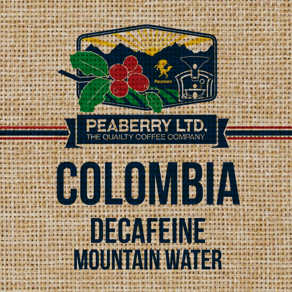 Greenbean  Colombia Decafeine Mountain Water