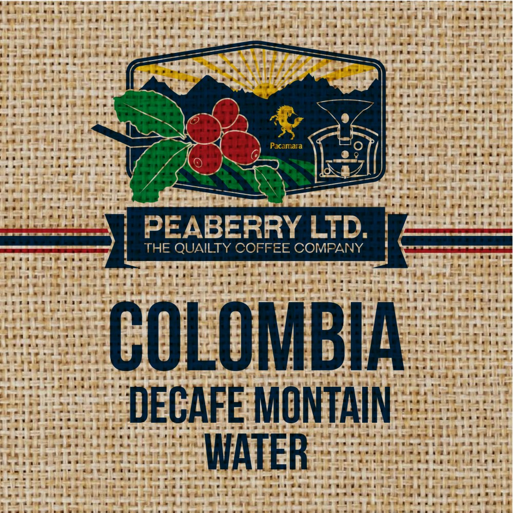 Green Bean Colombia Decafe Montain-Water