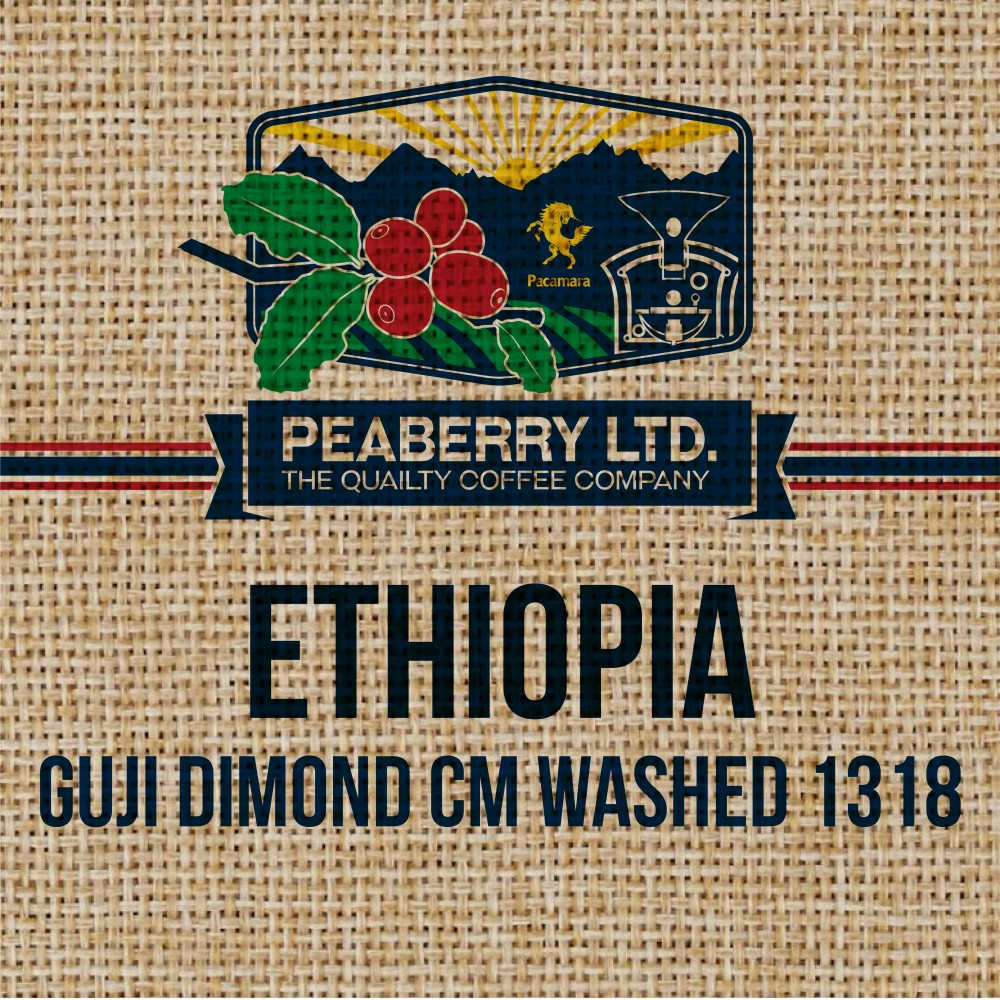 Green Bean Ethiopia Guji Diamond CM Washed 1318