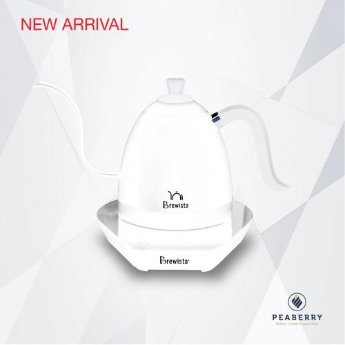 กานำ้ไฟฟ้า Brewista 600 ml สี Pure White
