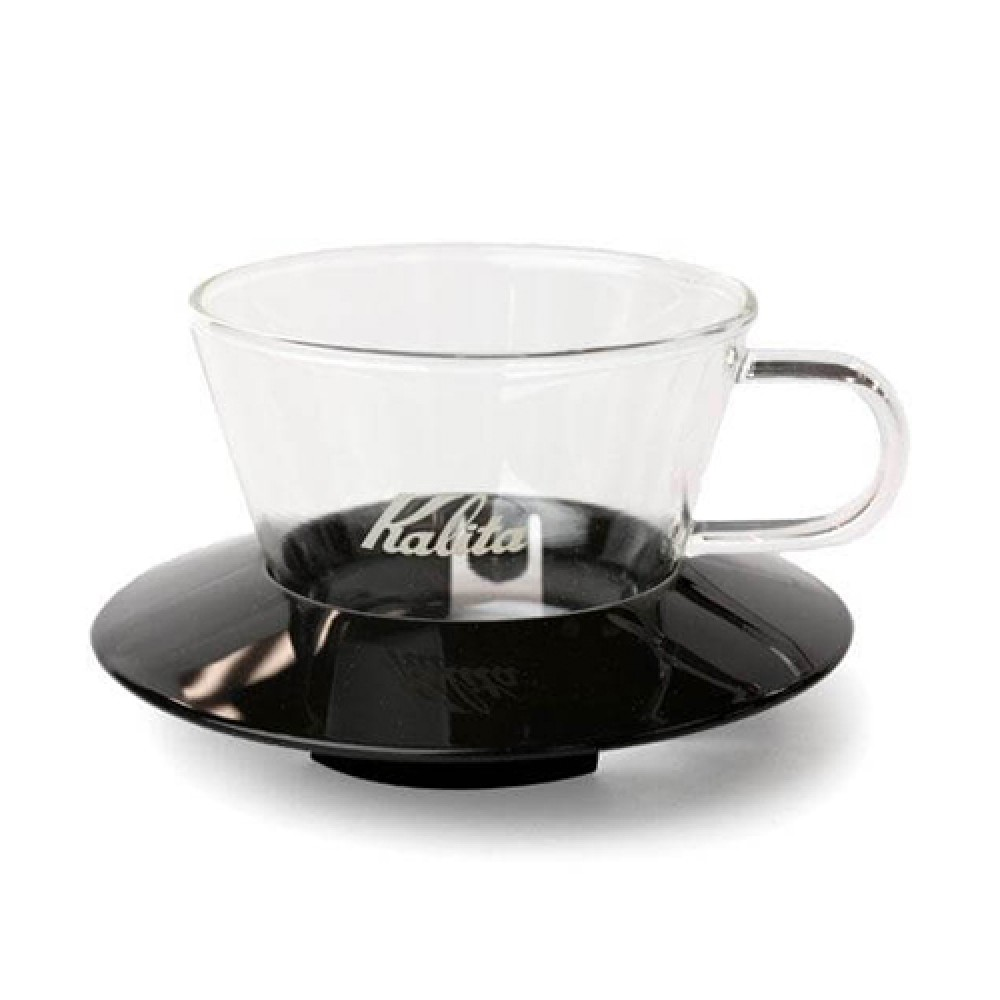 Kalita Glass Wave Dripper 185 (Black)