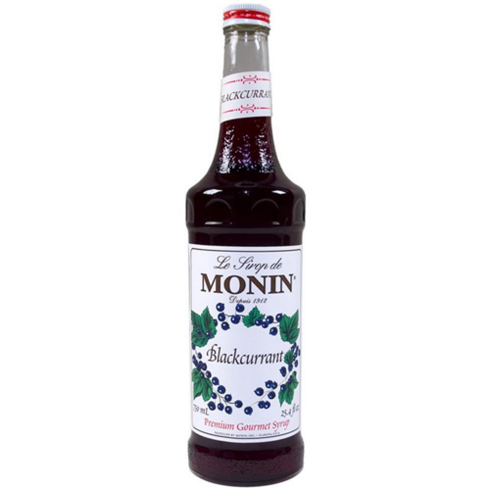 Monin Syrup Blackcurrant 700 ml.
