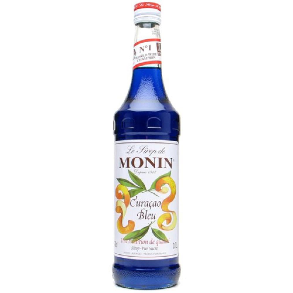 Monin Syrup Blue Curacao 700 ml.