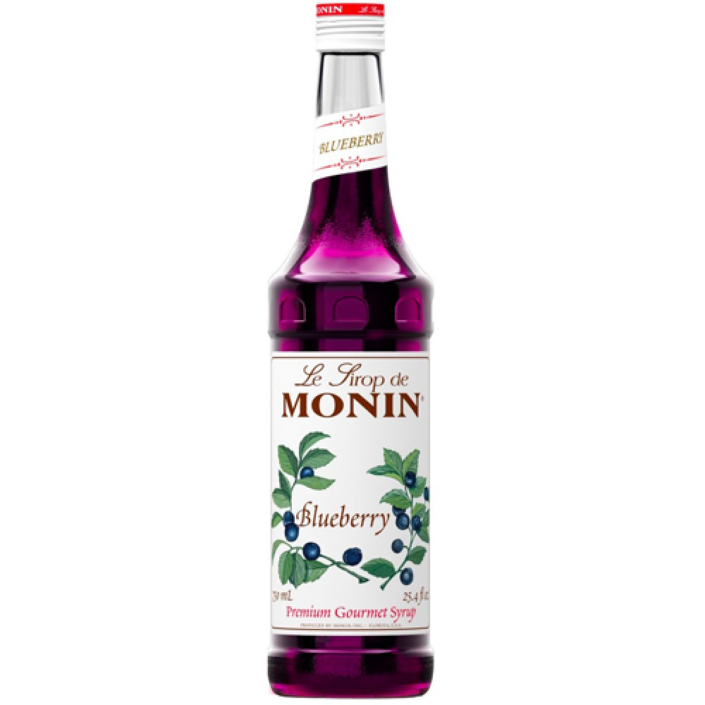 Monin Syrup Blueberry 700 ml.