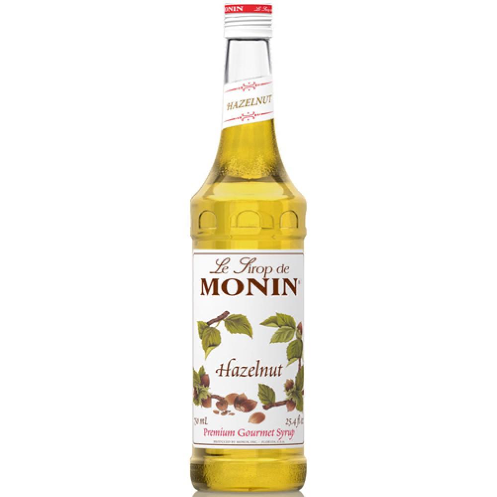 Monin Syrup Hazelnut 700 ml.