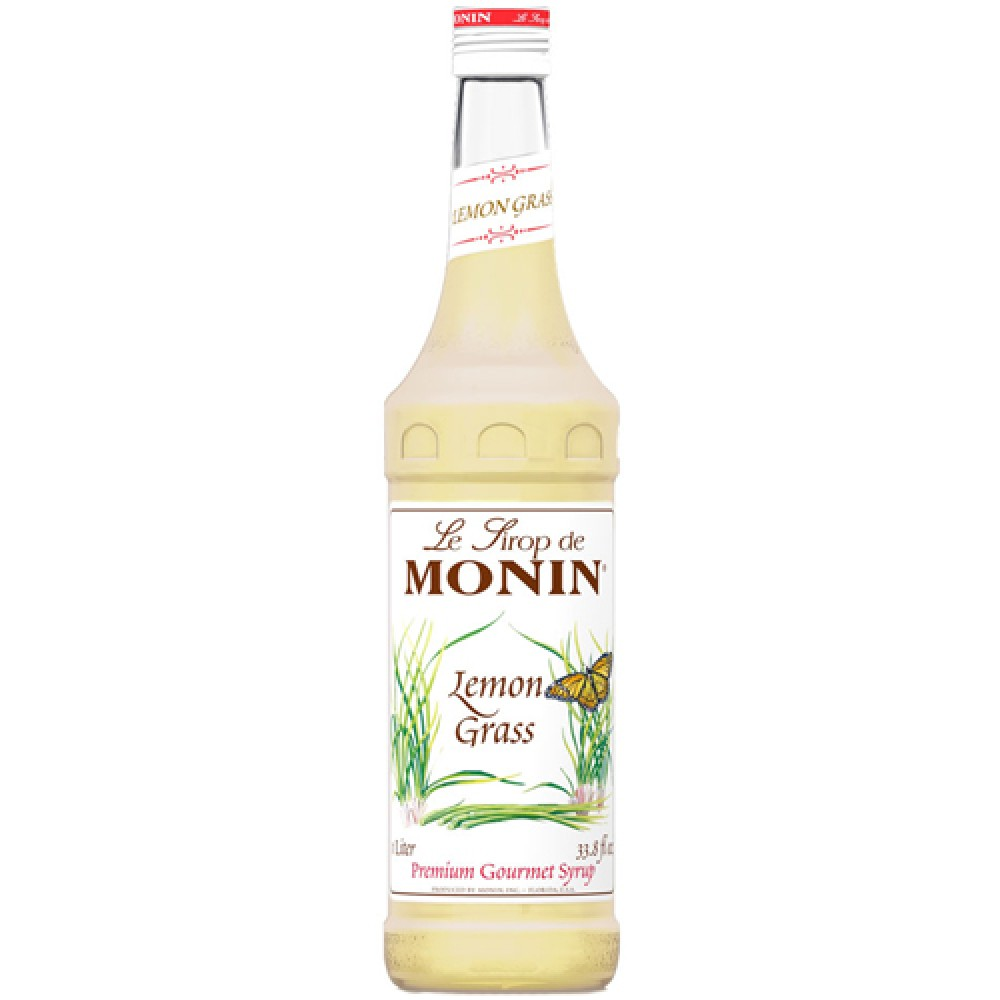 Monin Syrup Lemongrass 700 ml.