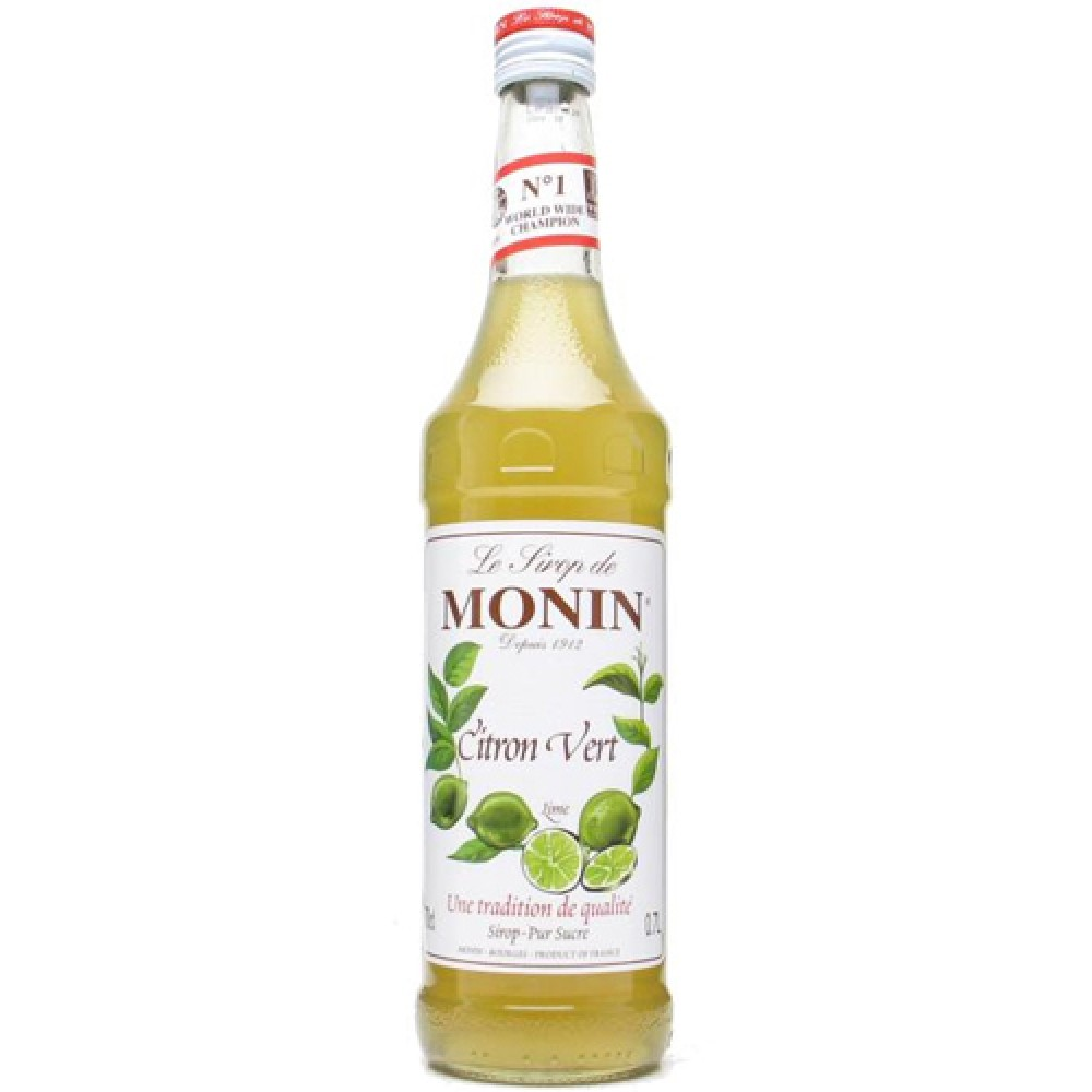 Monin Syrup Lime 700 ml.