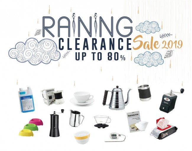Raining Clearance Sale 2019
